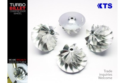 Turbocharger Billet Compressor Wheel | MFSS210C - S200 (54.52/76.23) 7+7 Forward